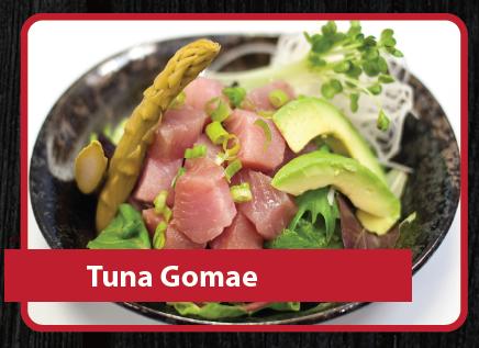Tuna Gomae