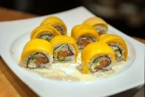 Sunshine Mango Roll