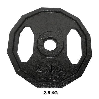 DISCO HIERRO CON HUECO 2.5KG