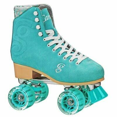CANDI GIRL CARLIN Colorful Patines de ruedas de estilo libre para mujer - Seafoam