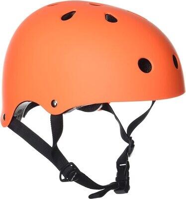 SFR Essentials Helmet Casco, Unisex para Adulto, Naranja (Orange)