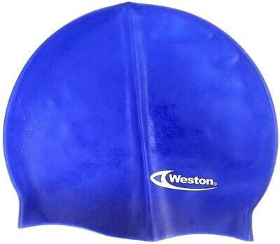 Weston - Gorro de natación de poliuretano para adultos,