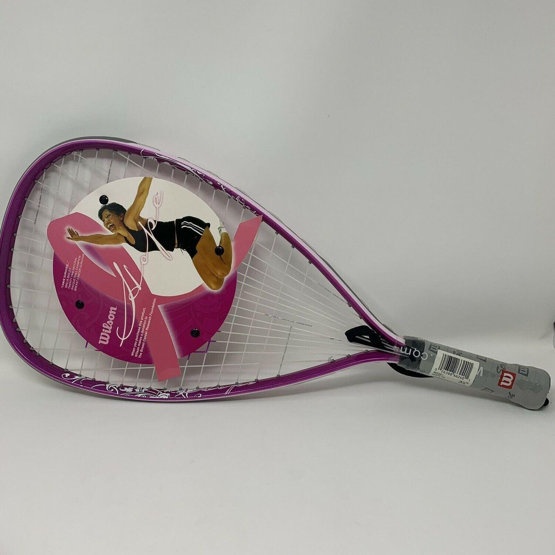 Wilson Hope Racquetball Racquet concientización del cáncer de mama Rosa