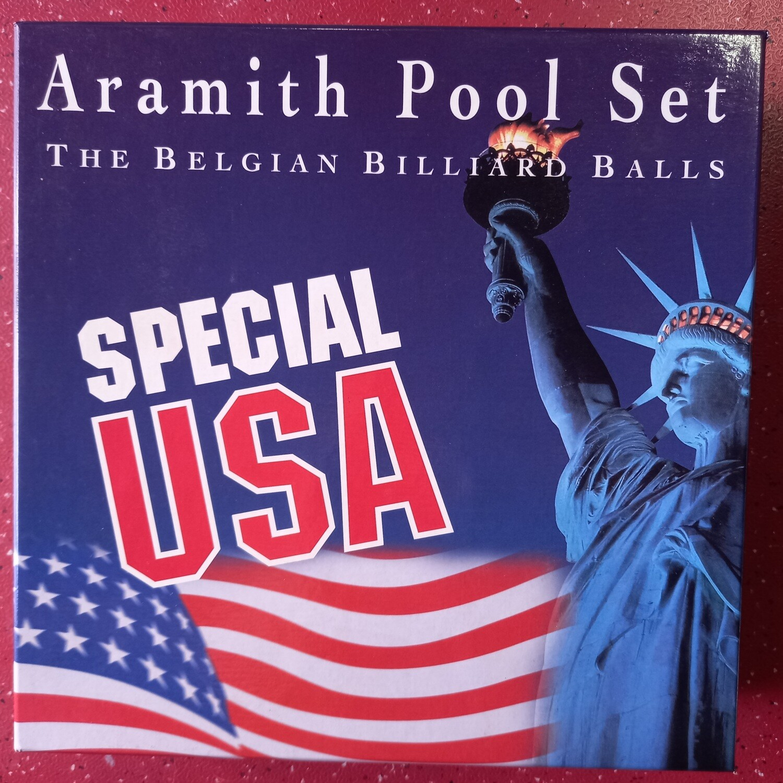 BOlas de billar aramith de edició especial de EE.UU