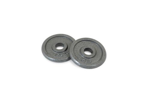 1.25 kg Discos de Pesa de Hierro 30 mm