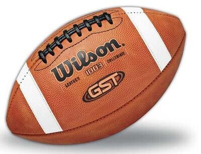 Balón de fútbol de cuero Wilson 1003 GST (OFERTA)