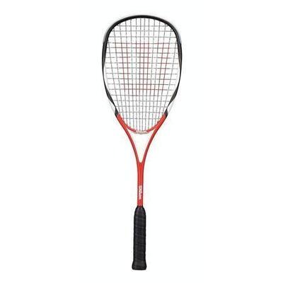 Raqueta De Squash Wilson Tour Clasica 140 Grms - Negro Y Rojo