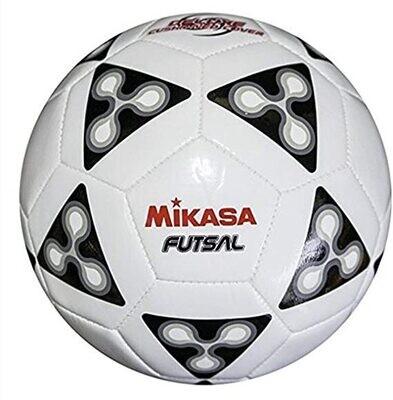Mikasa FSC62 America - Balón de fútbol sala, color negro y blanco, talla 4