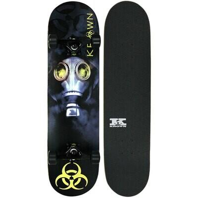 Krown Skateboard Pro Biohazard completo