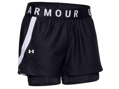 Shorts UA Play Up 2 en 1 para mujer