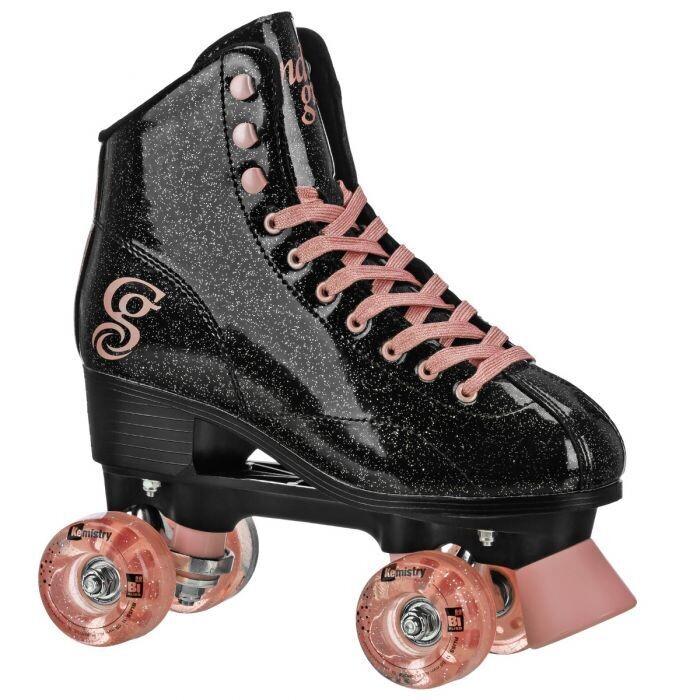 CANDI GRL SABINA Patines de ruedas de estilo libre para mujer - Negro / Rosa