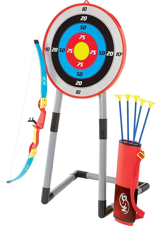 Juego de arco y flecha NSG Deluxe para niños