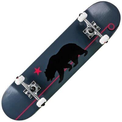 RD Deluxe Series Skateboard Grey Cali Bear