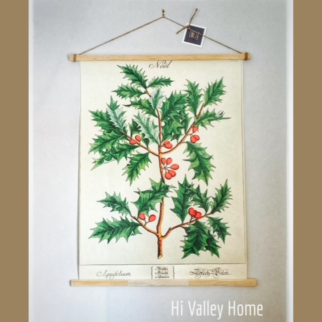 Vintage Poster - Holly