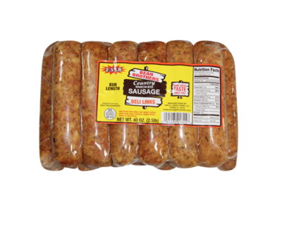 Bean Brothers Country Smoked Mild Deli Links