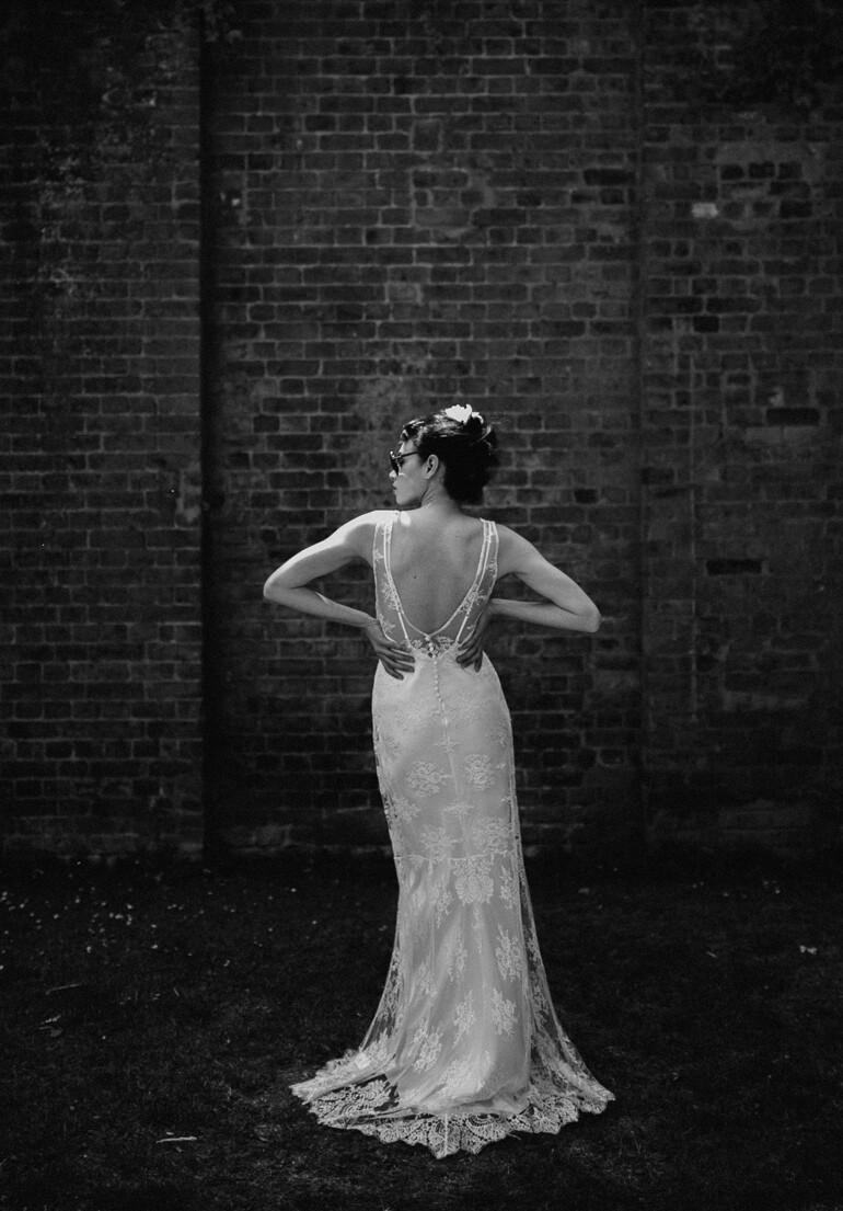 ISABELLE. Ivory Lace Wedding Dress