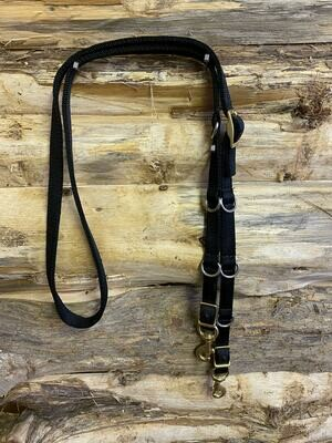 #212-A,Nylon German Martingale reins
