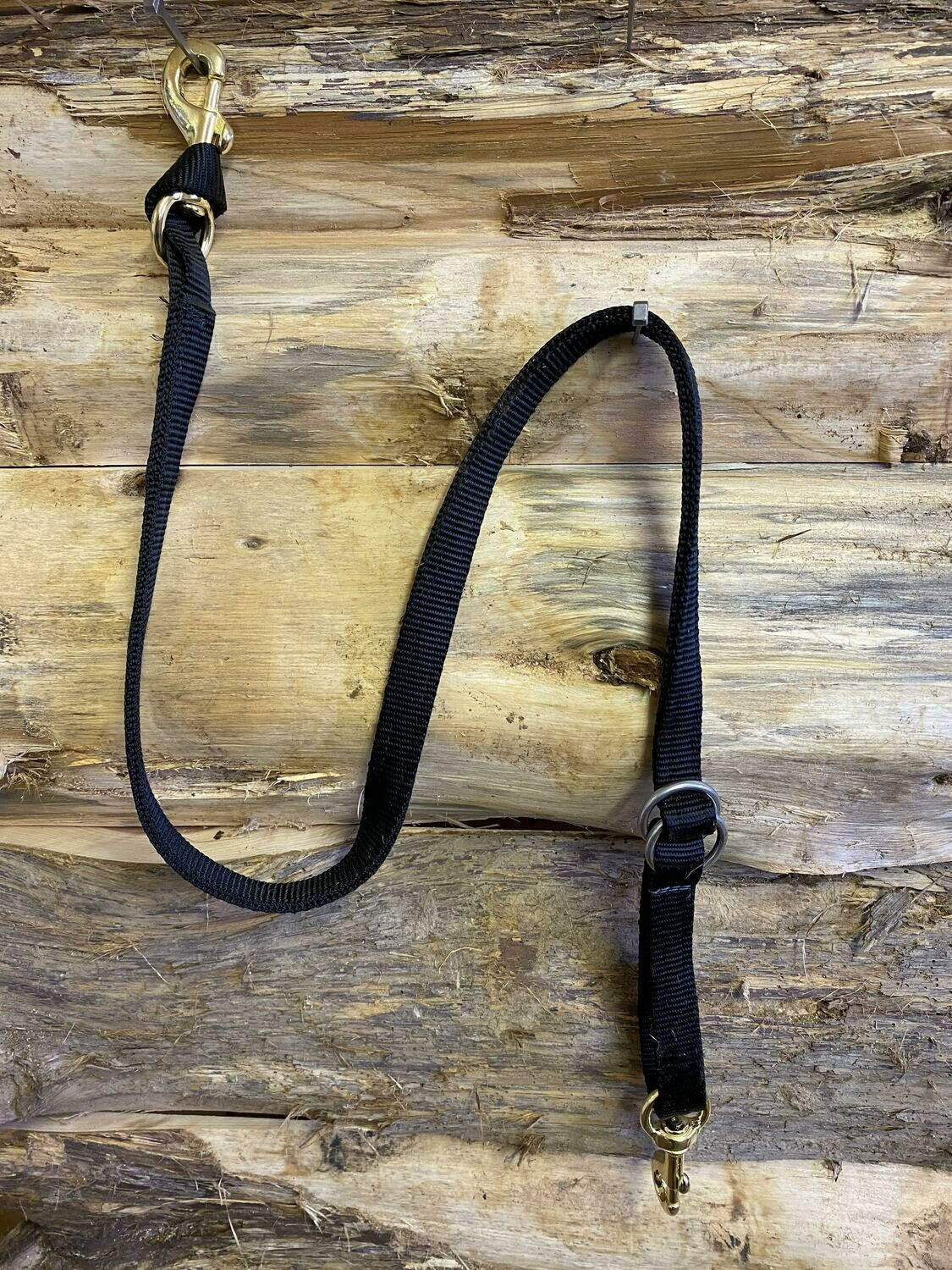 #332 Tiedown strap with rings black only