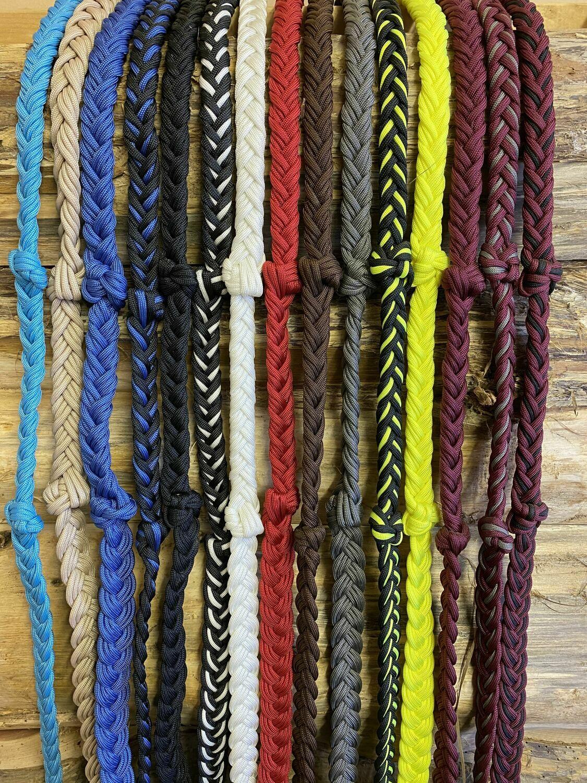 #197 Paracord braided reins