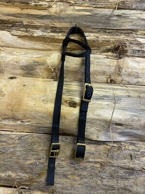 #333b short headstall *black only*