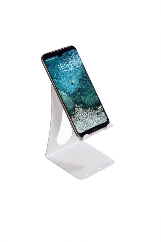 VOLL Violett Metal Telefon ve Tablet Standı - Beyaz