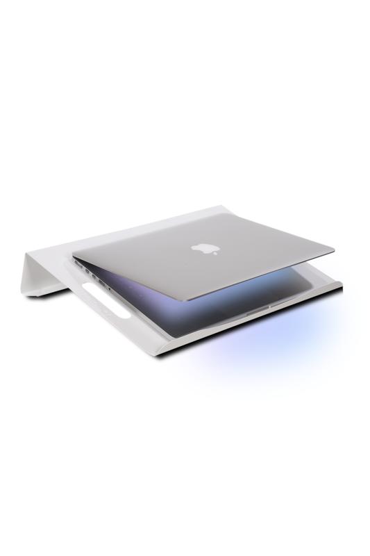 VOLL Blume Notebook Standı Laptop Soğutucu Altlığı - Beyaz