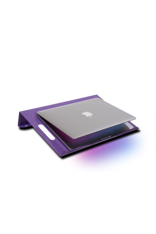 VOLL Blume Notebook Standı Laptop Soğutucu Altlığı - Lila