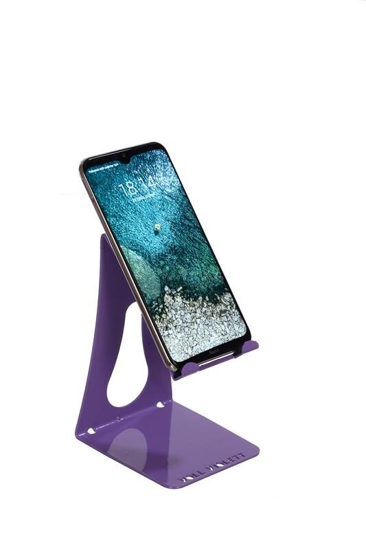 VOLL Violett Metal Telefon ve Tablet Standı - Lila