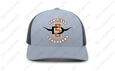 Trucker Hat Graphite Face