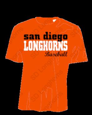 Longhorns Orange Dri Fit Game Jersey