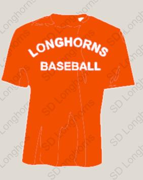 Longhorns Orange Dri Fit Practice