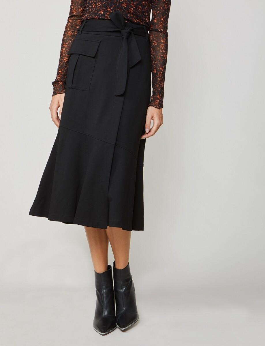 Summum Utility Skirt Black