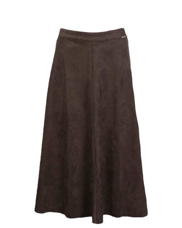 Rino & Pelle Skirt suede Ranomi green