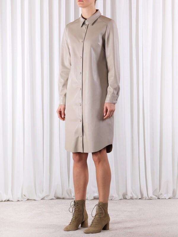 Rino & Pelle Dressblouse Mitch grijs/beige