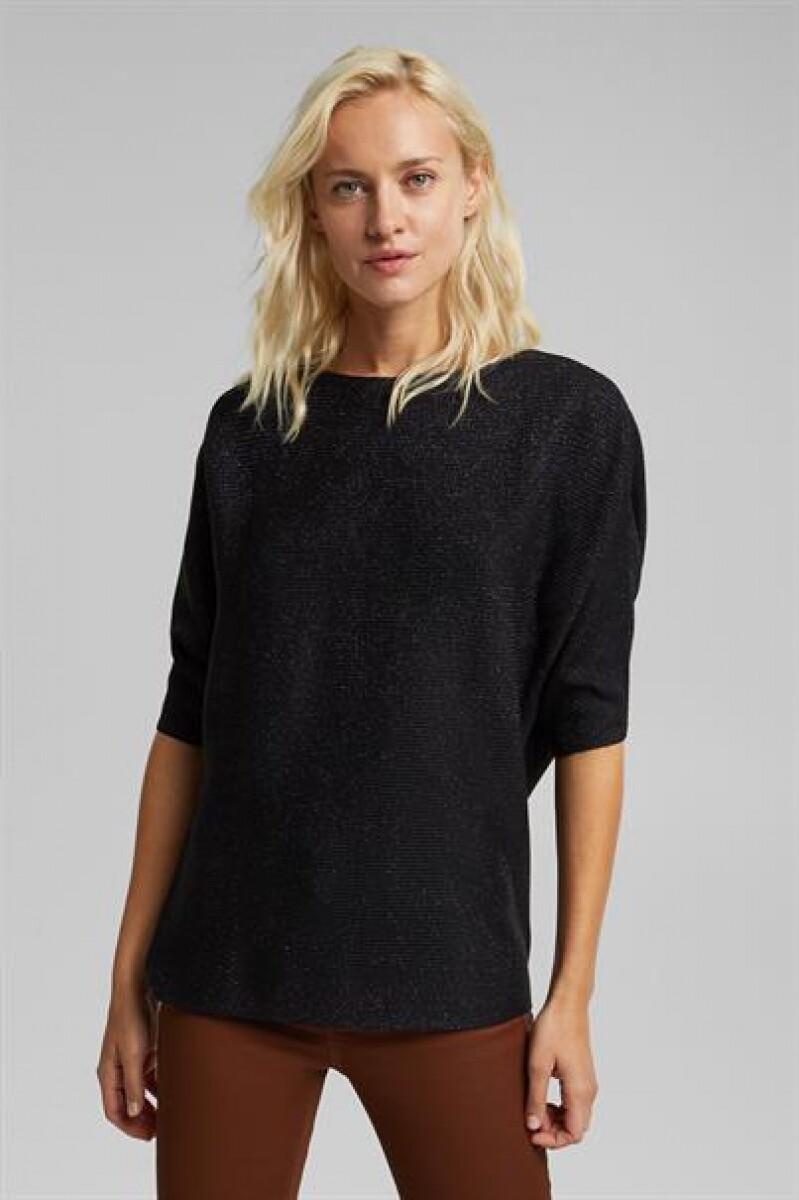 Esprit Lurex Sweater zwart