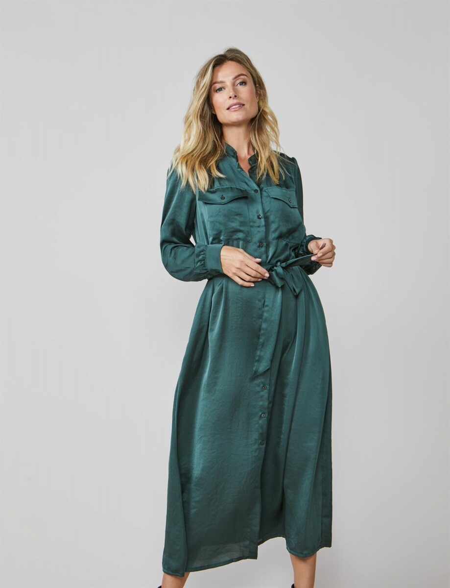 Summum Dress Green