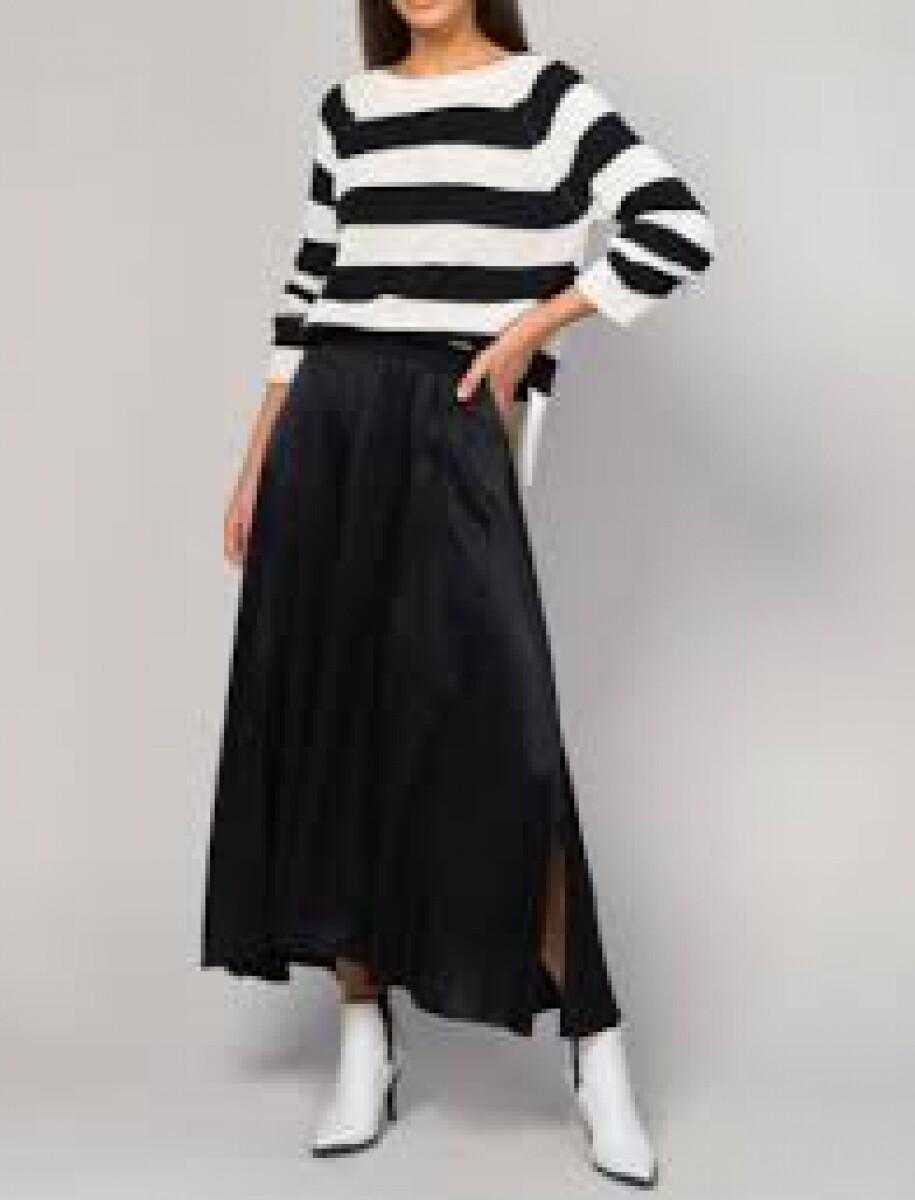 Summum Long skirt Black
