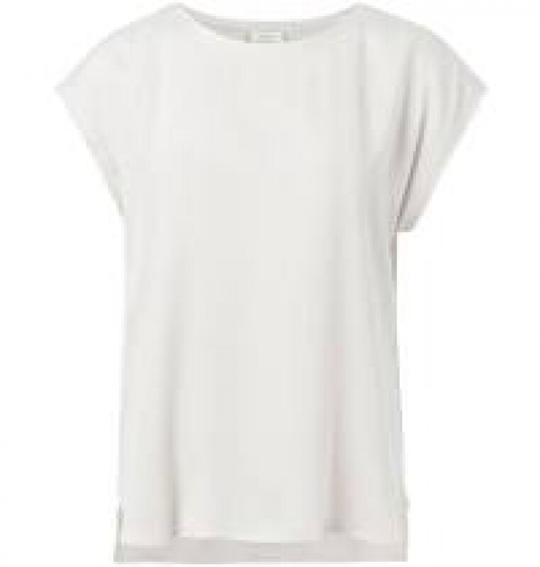 YAYA Basic T shirt OFF WHITE