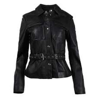 Studio Ar by Arma Leather Biker Jacket