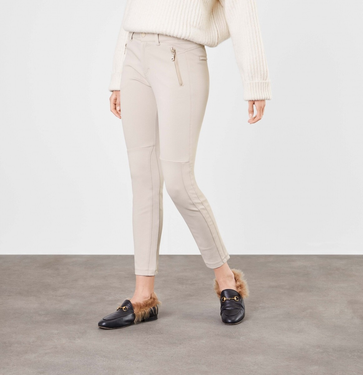 Mac Riding Pants Sand/beige