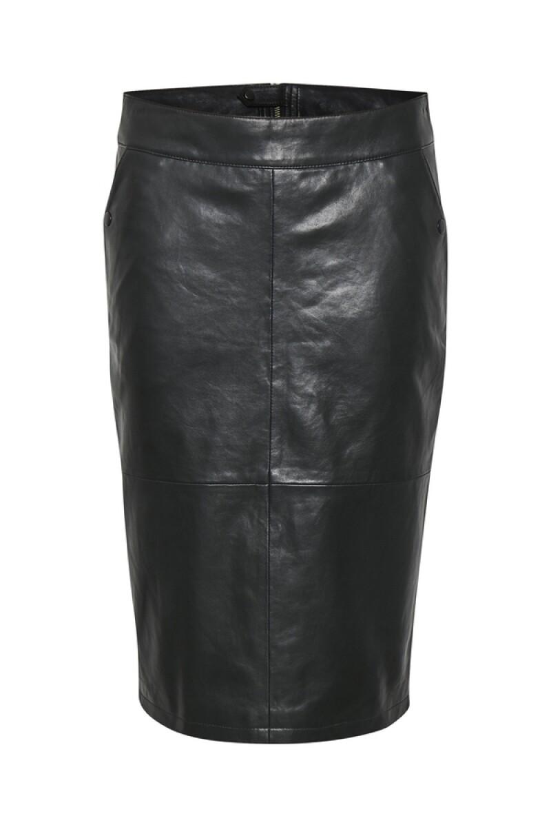 Culture Skirt Leather Asha