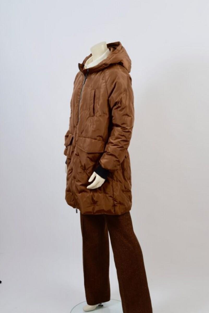 Etage Jacket long camel