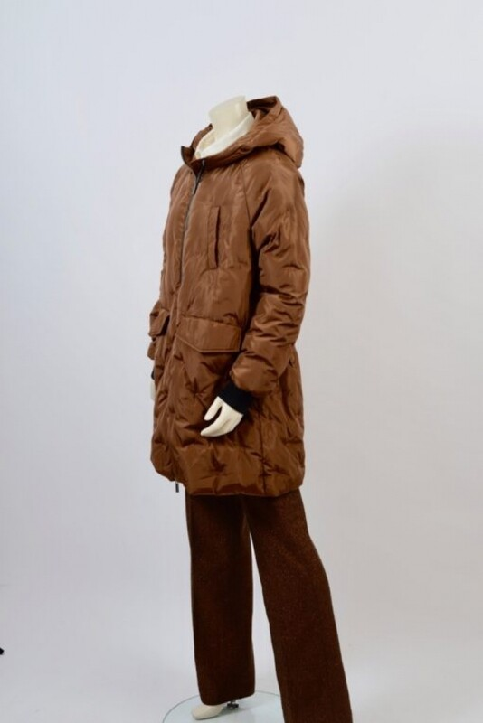 Etage Jacket long camel