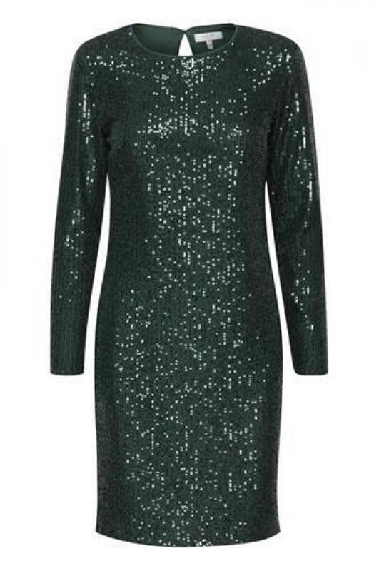 B.Young Sofella Dress Green