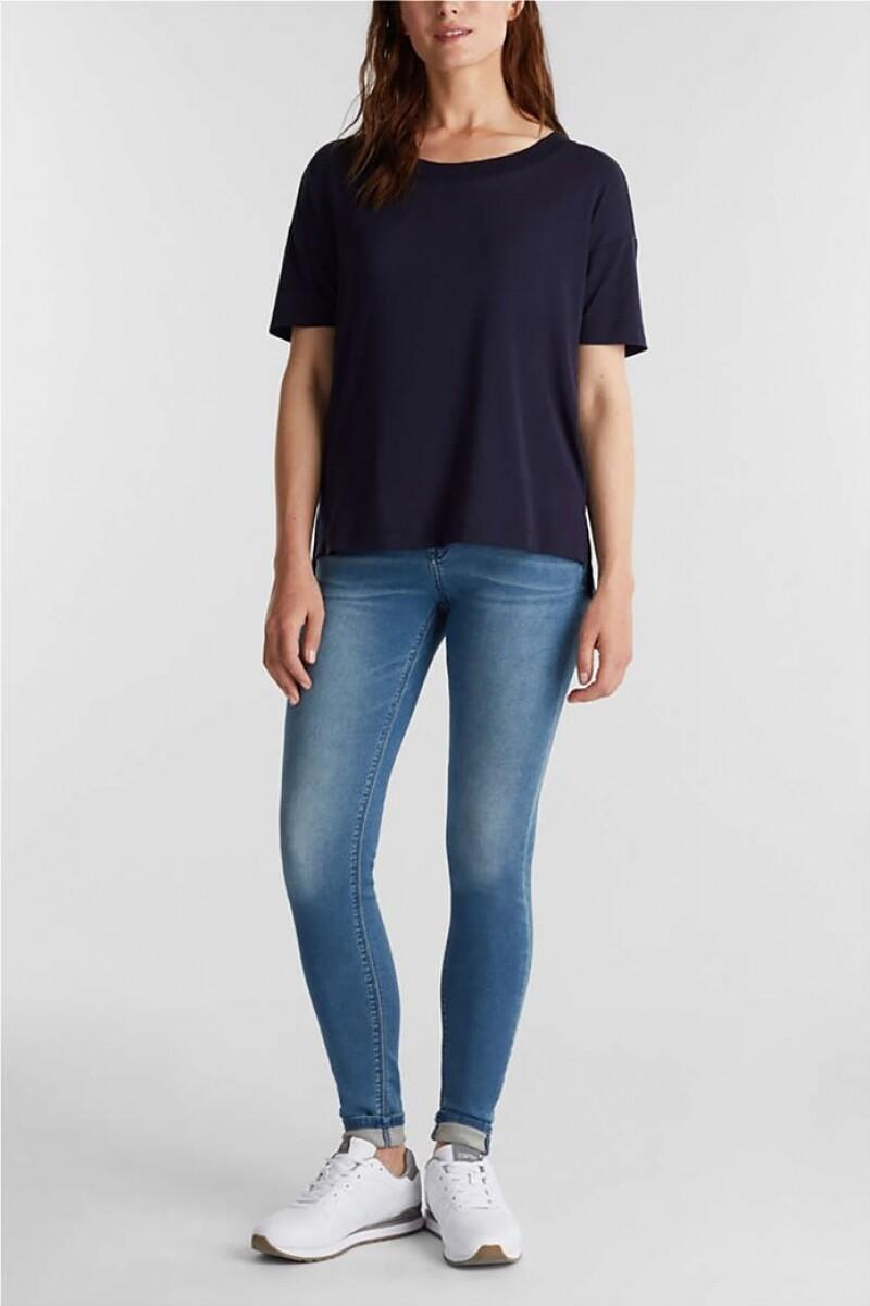 Esprit Shirt second skin dark blue