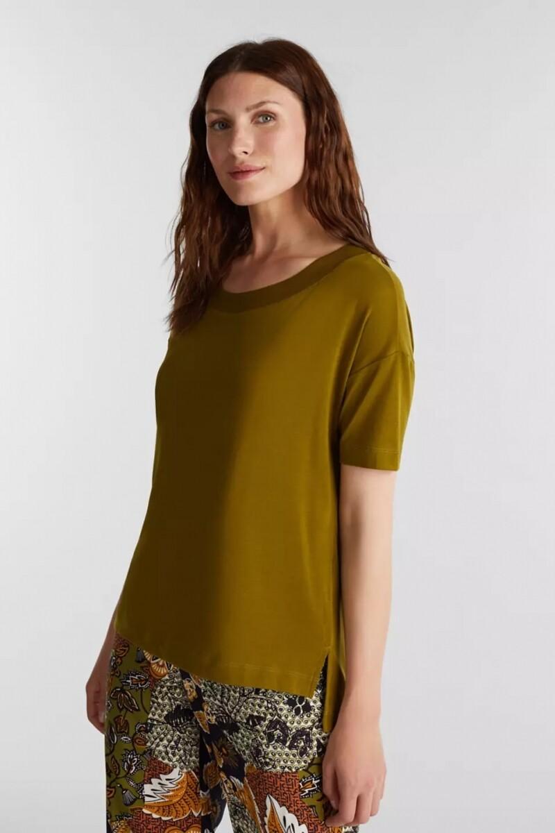 Esprit Shirt second skin Olive green