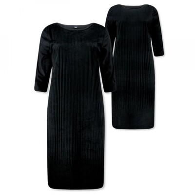 Lizzy & Coco Dress Cacy reversible black