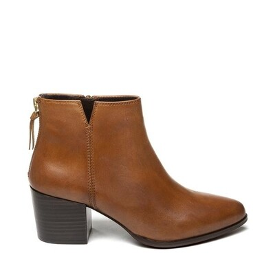 Steven NY Ankleboot Leather Cognac