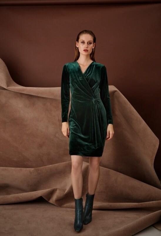 B.Young Perlina Dress Velvet