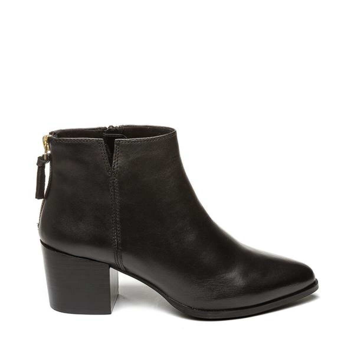 Steven NY Ankleboot Leather Black
